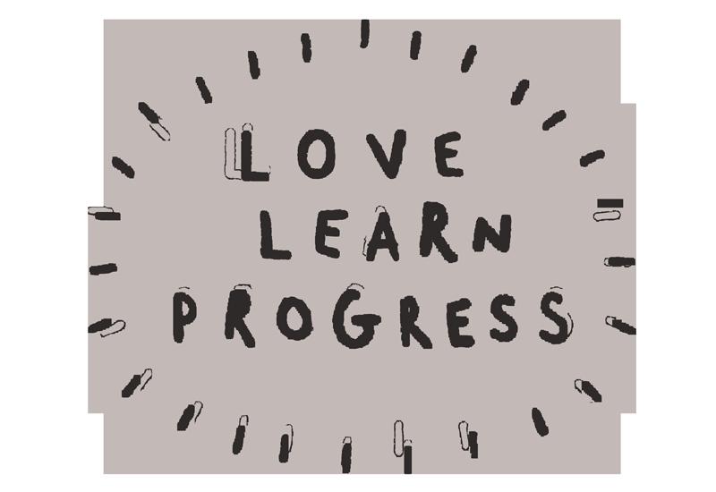 Love. Learn. Progress. Philip Bunting