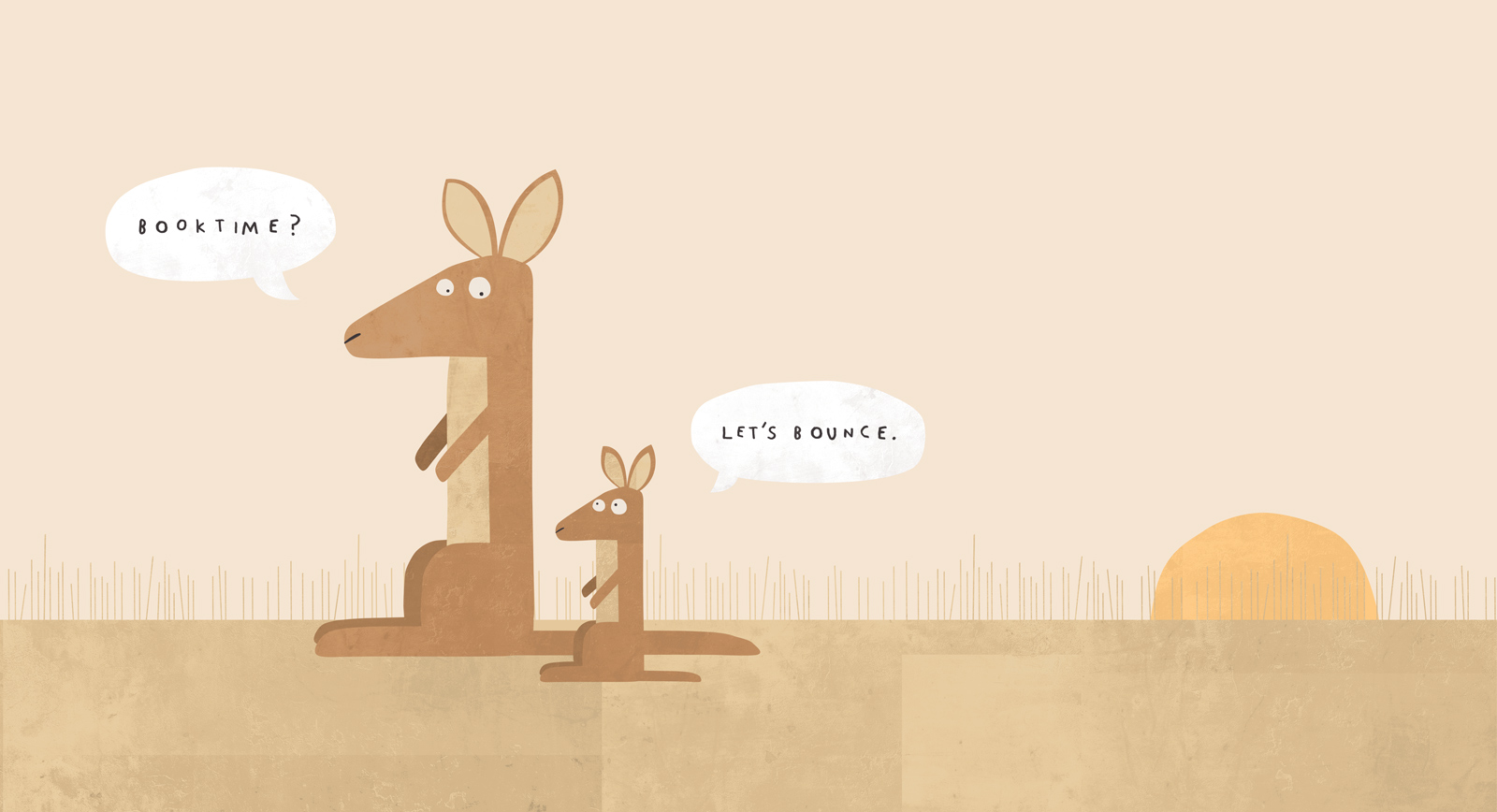 Philip Bunting Kangaroos —Let's bounce