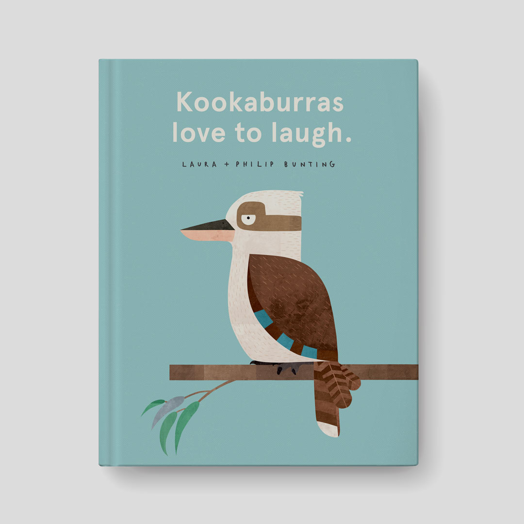 Kookaburras Love to Laugh by Laura Bunting & Philip Bunting | Book cover